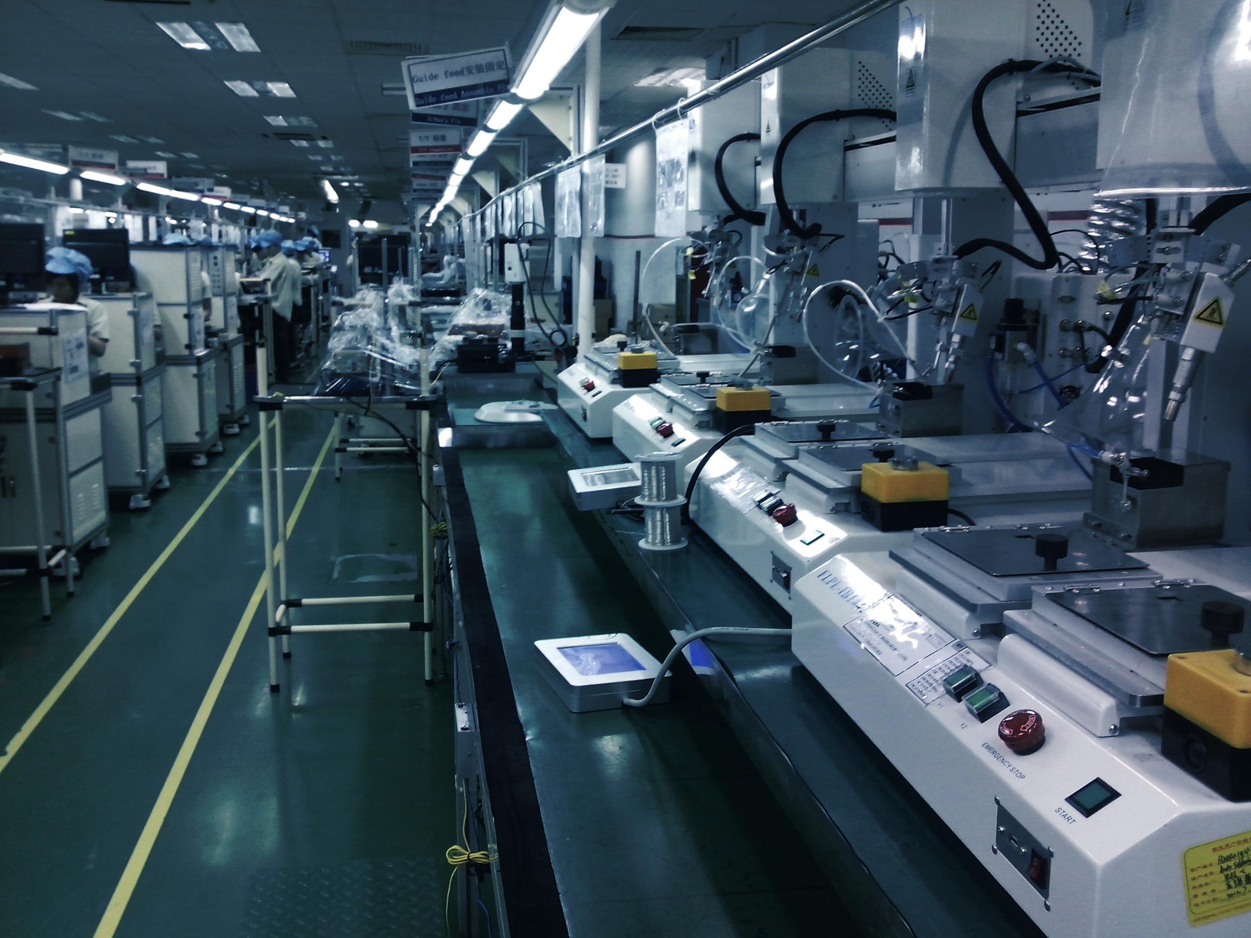 自动焊锡机在光驱生产中的应用